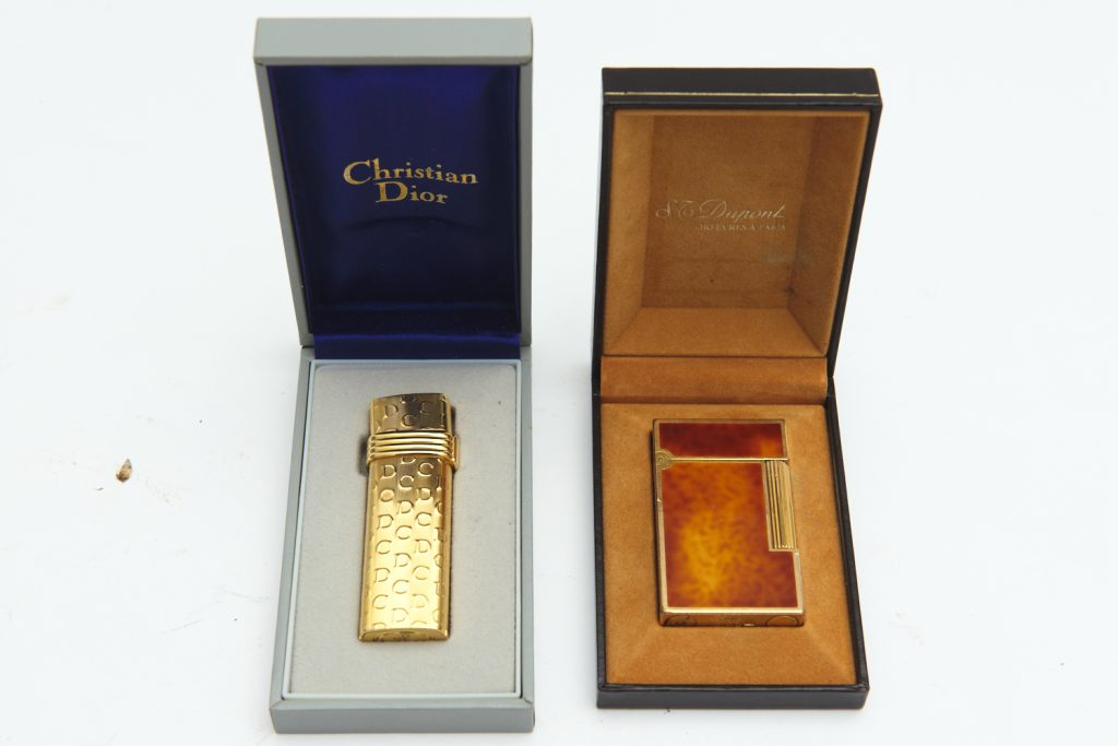 cigarette lighters from downsizing and deceased estates available at auction