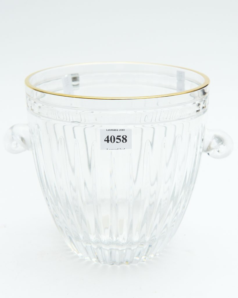 Waterford Marquis ice bucket from downsizing and deceased estates available at auction