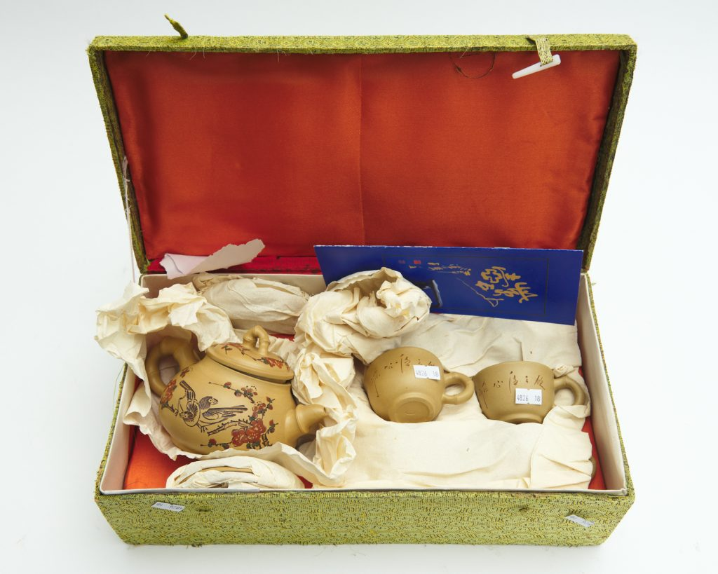 Chinese tea set from downsizing and deceased estates available at auction